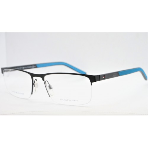 Tommy Hilfiger Oprawa okularowa męska TH1594 0VK - czarny, niebieski