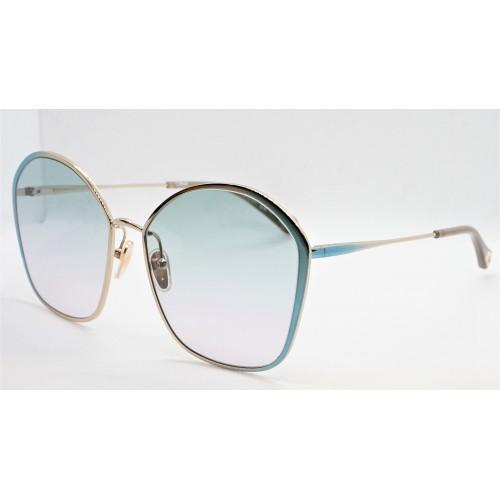 Chloe Okulary przeciwsłoneczne damskie CH0015S 001 - złoty, zielony, filtr UV 400