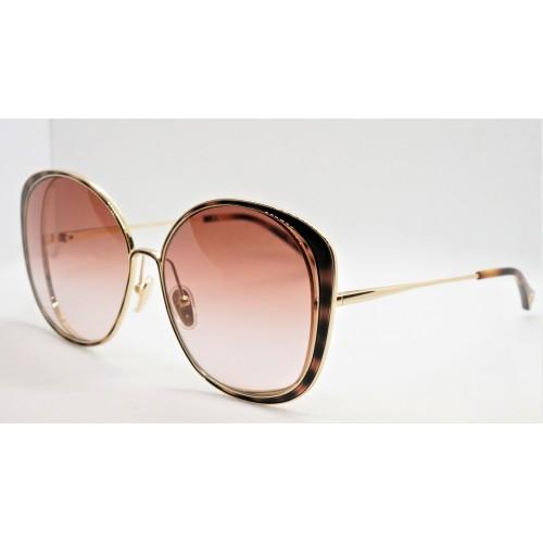 Chloe Okulary przeciwsłoneczne damskie CH0036S 003 - złoty, brązowy, filtr UV 400