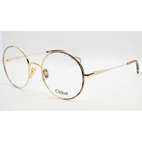 Chloe Oprawa okularowa damska CH0040O 001 - złoty, brązowy