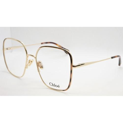 Chloe Oprawa okularowa damska CH0038O 001 - złoty, szylkretowy