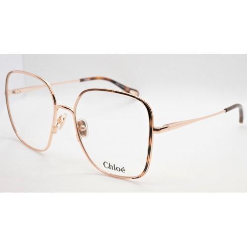 Chloe Oprawa okularowa damska CH0038O 002 - różowo-złoty, szylkretowy