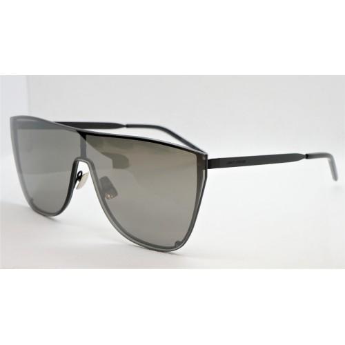 Yves Saint Laurent Okulary przeciwsłoneczne unisex SL 1-B MASK 003 - czarny, filtr UV 400