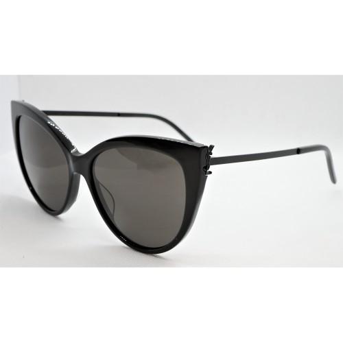 Yves Saint Laurent Okulary przeciwsłoneczne damskie SL M48S_A 001 - czarny, filtr UV 400
