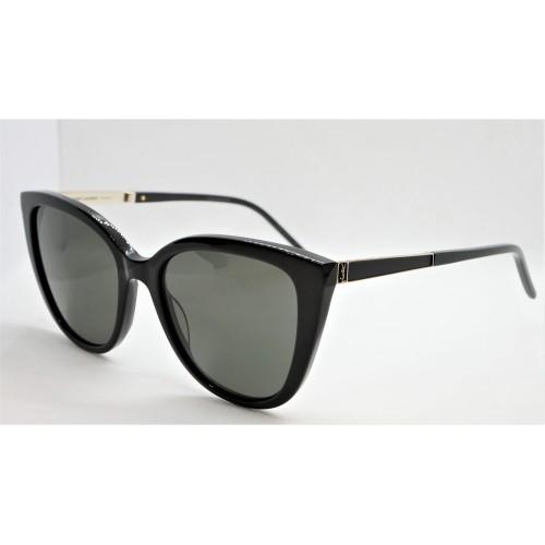 Yves Saint Laurent Okulary przeciwsłoneczne damskie SL M70 - czarny, filtr UV 400