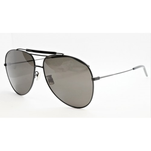 Yves Saint Laurent Okulary przeciwsłoneczne unisex CLASSIC 11 OVER 002 - czarny, filtr UV 400