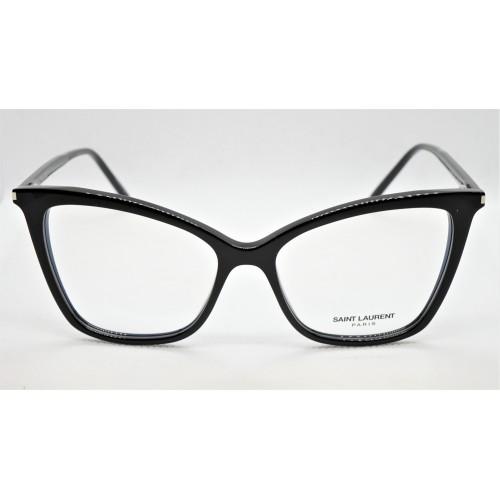 Yves Saint Laurent Oprawa okularowa damska SL 386 005- czarny