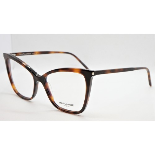 Yves Saint Laurent Oprawa okularowa damska SL 386 006 - szylkretowy