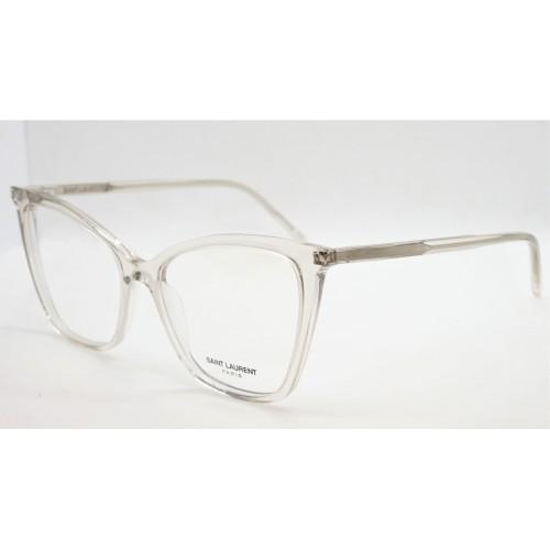 Yves Saint Laurent Oprawa okularowa damska SL 386 007- transparentny