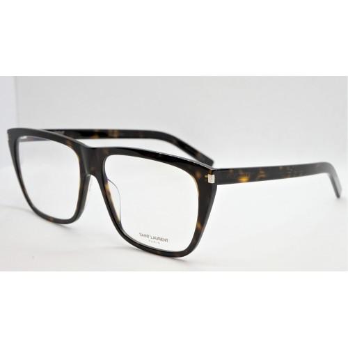 Yves Saint Laurent Oprawa okularowa unisex SL 434 002- szylkretowy