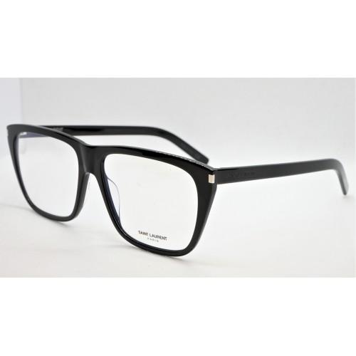 Yves Saint Laurent Oprawa okularowa unisex SL 434 001- czarny