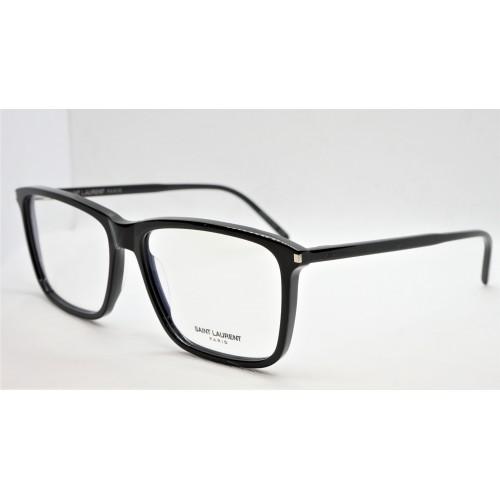 Yves Saint Laurent Oprawa okularowa męskie SL 454 004- czarny