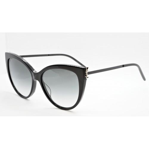 Yves Saint Laurent Okulary przeciwsłoneczne damskie SL M48S_A 002 - czarny, filtr UV 400