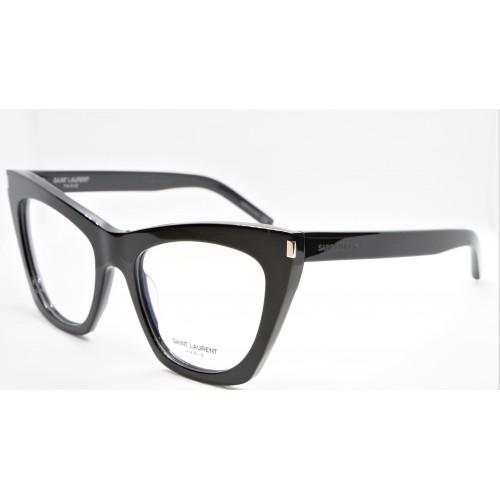 Yves Saint Laurent Oprawa okularowa damska SL 214 KATE 001- czarny