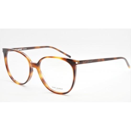 Yves Saint Laurent Oprawa okularowa damska SL 39 002- szylkret