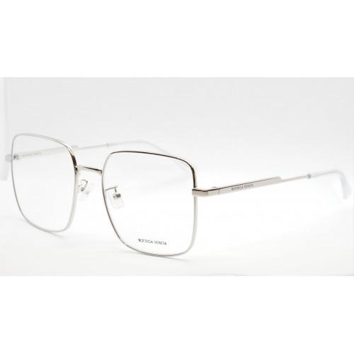 Bottega Veneta Oprawa okularowa męska BV1110O 002 - srebrny