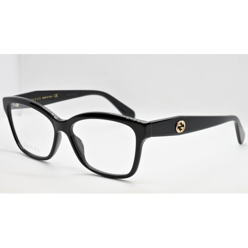 Gucci Oprawa okularowa damska GG0798O 004 - czarny