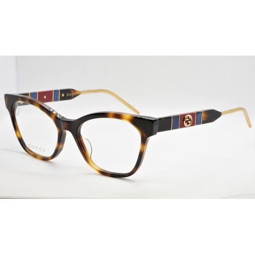 Gucci Oprawa okularowa damska GG0600O 003 - szylkret