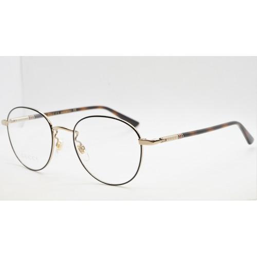 Gucci Oprawa okularowa unisex GG0392O 002- złoty