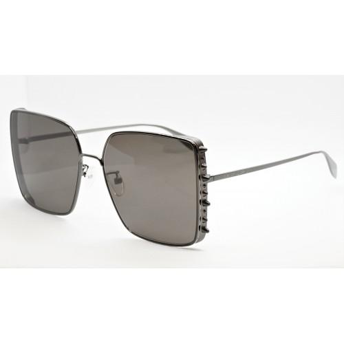 Alexander McQueen Okulary przeciwsłoneczne damskie AM0309S 001 - czarny, filtr UV 400