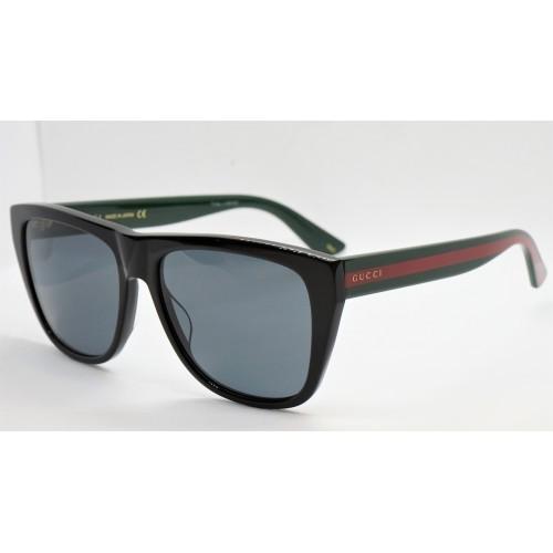 Gucci Okulary przeciwsłoneczne damskie Gucci GG0926S 001 - czarny, czerwony, zielony, filtr UV400