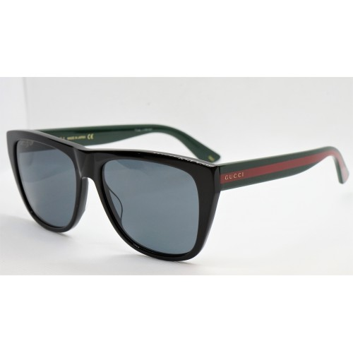 Gucci Okulary przeciwsłoneczne damskie Gucci GG0926S 001 - czarny, czerwony, zielony