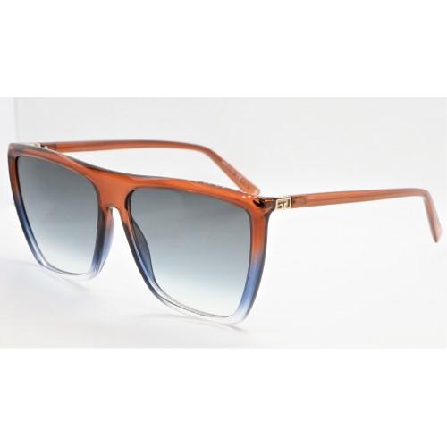 Givenchy Okulary przeciwsłoneczne damskie GV 7181/S 4E3 - pomarańczowy, niebieskifiltr UV 400