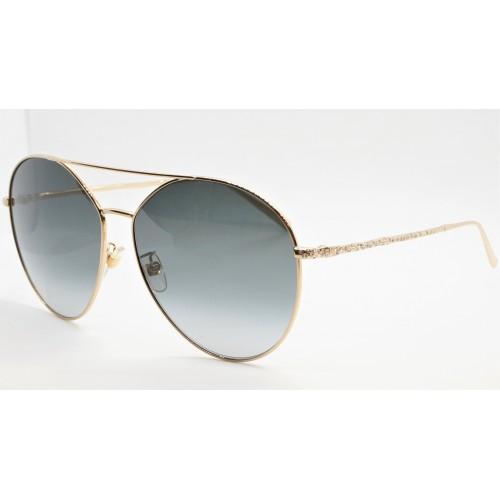 Givenchy Okulary przeciwsłoneczne damskie GV 7170/G/S 2F7 - złoty, szary filtr UV 400