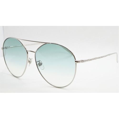 Givenchy Okulary przeciwsłoneczne damskie GV 7170/G/S 010 - srebrny, zielony filtr UV 400