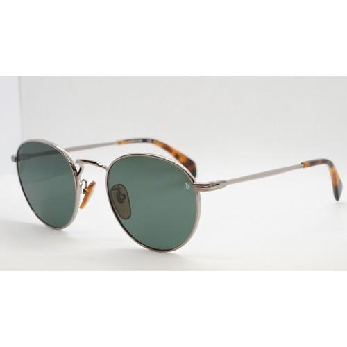 David Beckham Okulary przeciwsłoneczne męskie DB1005/S 6LB - srebrny, filtr UV 400