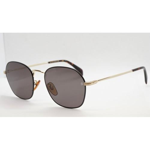 David Beckham Okulary przeciwsłoneczne męskie DB1031/G/S RHL - złoty, czarny, filtr UV 400