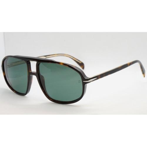 David Beckham Okulary przeciwsłoneczne męskie DB1000/S 086 - szylkret, filtr UV 400