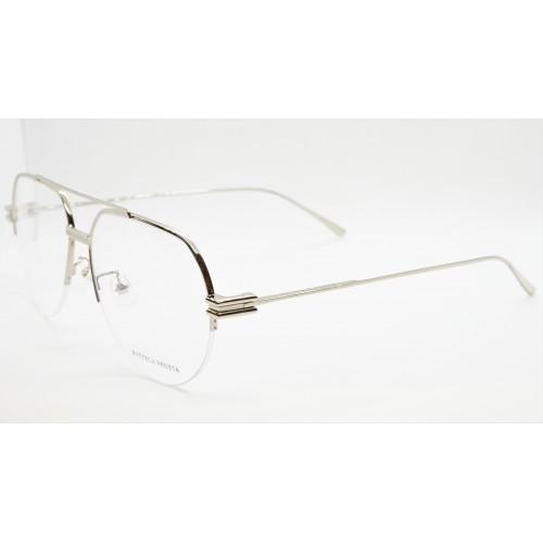 Bottega Veneta Oprawa okularowa męska BV1050O 002- stalowy