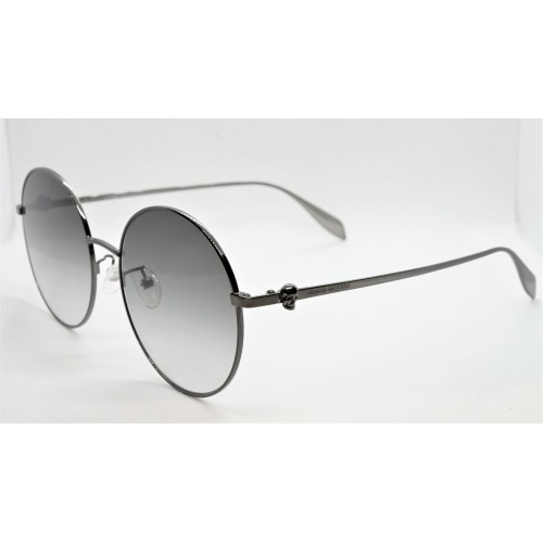 Alexander McQueen Okulary przeciwsłoneczne unisex AM0275S 001 - czarny, filtr UV 400