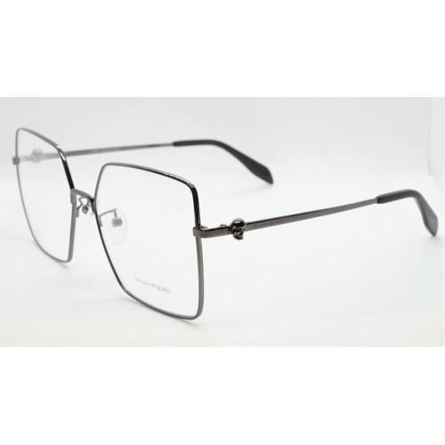 Alexander McQueen Oprawy okularowe damskie AM0276O 001 - czarny