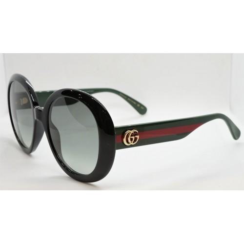 Gucci Okulary przeciwsłoneczne damskie GG0712S 001 - czarny, filtr UV400