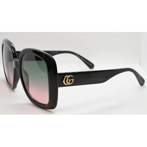 Gucci Okulary przeciwsłoneczne damskie GG0713S 002 - czarny, filtr UV400
