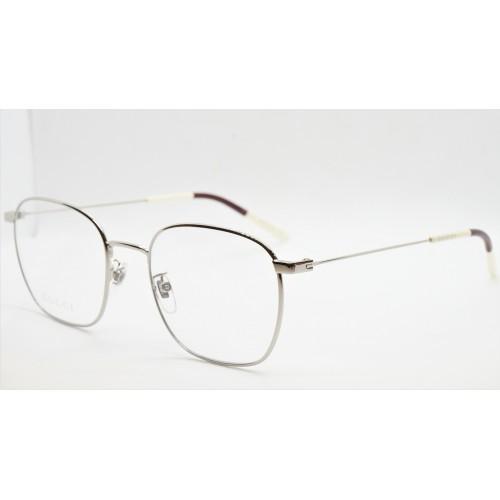 Gucci Oprawa okularowa unisex GG0681O 002 - srebrny