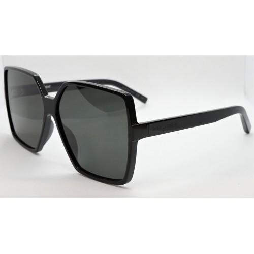 Yves Saint Laurent Okulary przeciwsłoneczne damskie SL 232 BETTY 001 - czarny, filtr UV 400