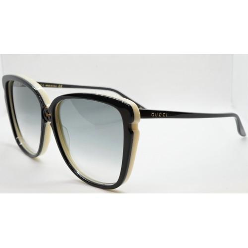 Gucci Okulary przeciwsłoneczne damskie GG0709S 004 - czarny, filtr UV400