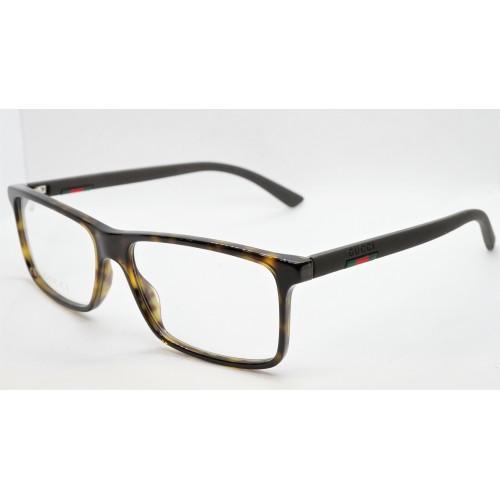 Gucci Oprawa okularowa męska GG0424O 006- szylkret