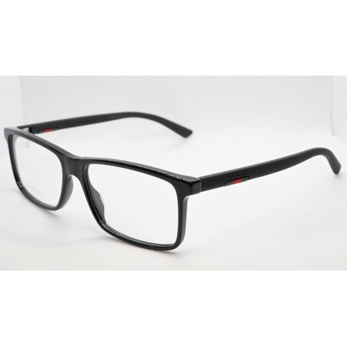 Gucci Oprawa okularowa męska GG0424O 005- czarny