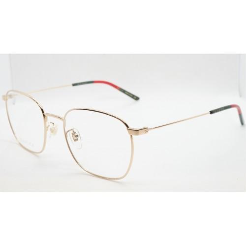 Gucci Oprawa okularowa unisex GG0681O 001 - złoty