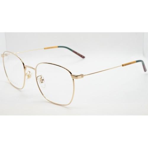 Gucci Oprawa okularowa unisex GG0681O 004 - złoty