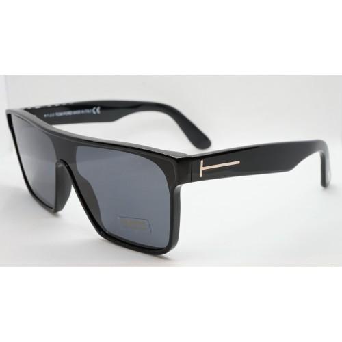 Tom Ford Okulary przeciwsłoneczne męskie WHYAT TF709 01A 144 - czarny