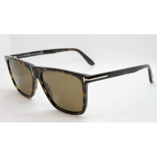 Tom Ford Okulary przeciwsłoneczne męskie polaryzacyjne TF 832/S 052H - szylkret
