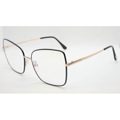 Tom Ford Oprawa okularowa damska TF5613-B 002 - złoty, czarny