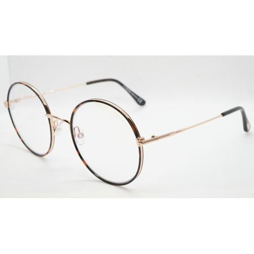 Tom Ford Oprawa okularowa damska TF5632-B 052 - złoty, szylkretowy