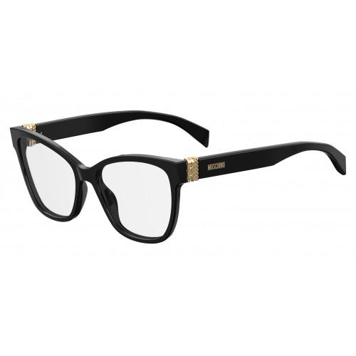 MOSCHINO Oprawa okularowa damska MOS510 807 - czarny
