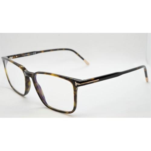Tom Ford Oprawa okularowa męska FT5607-B 052 - szylkret